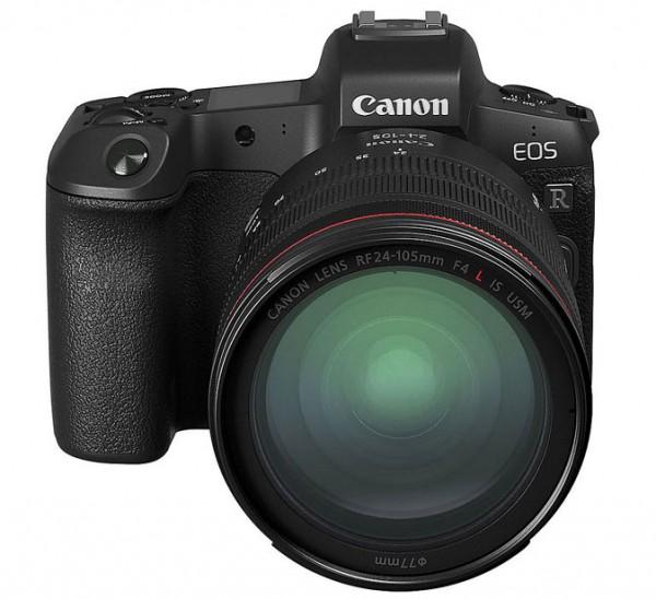 Leasing, Canon EOS R Gehäuse +RF 24-105mm f/4L IS USM Objektiv +Bajonettadapter EF-EOS R