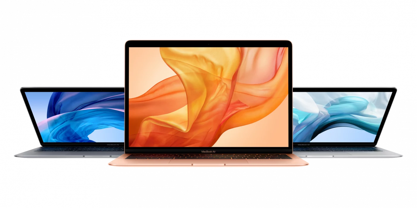 MacBook Air Leasing Farben