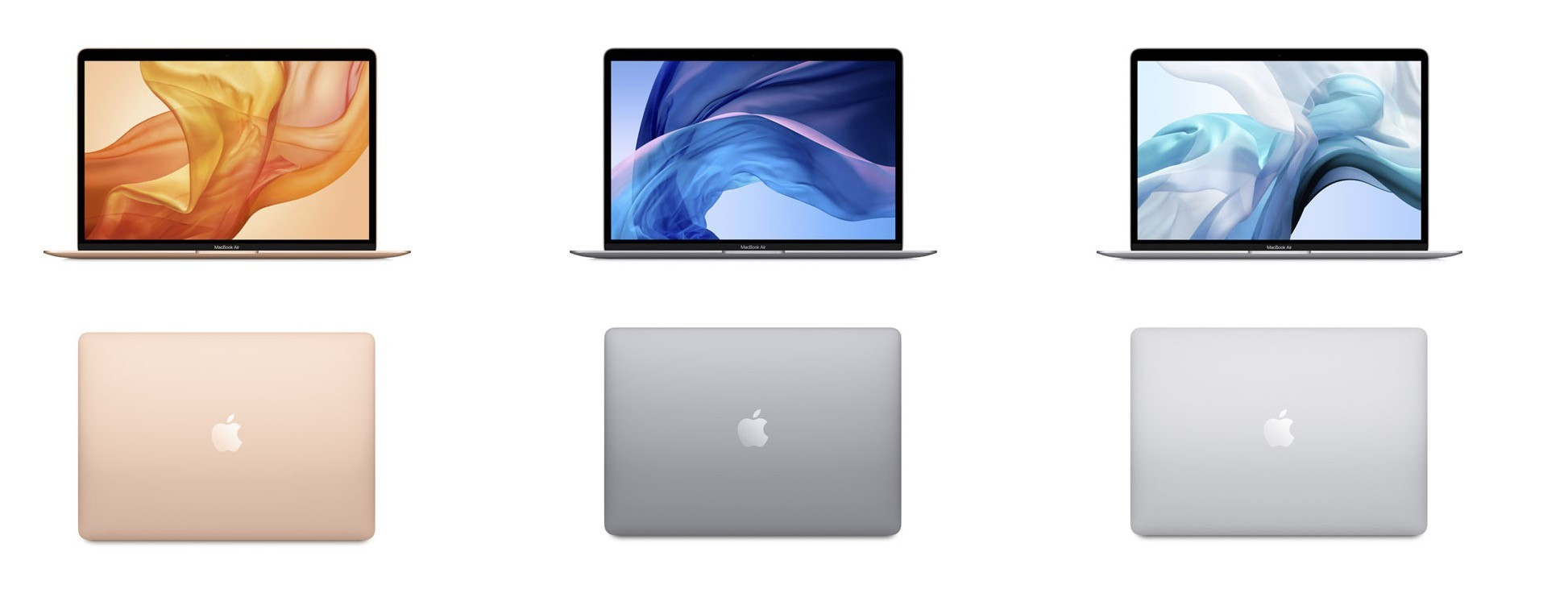 MacBook Air Leasing Farbtöne