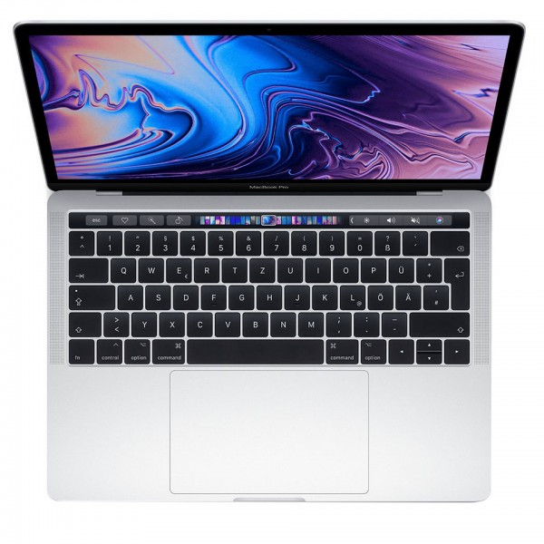 Apple MacBook Pro 13 Leasing silber