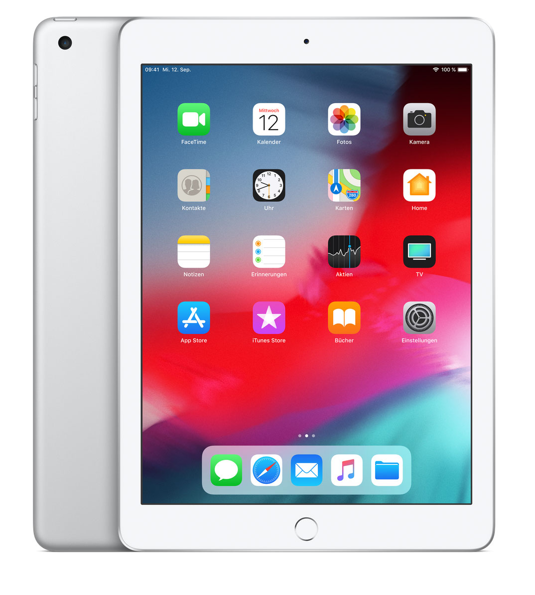 Apple iPad Leasing Silber